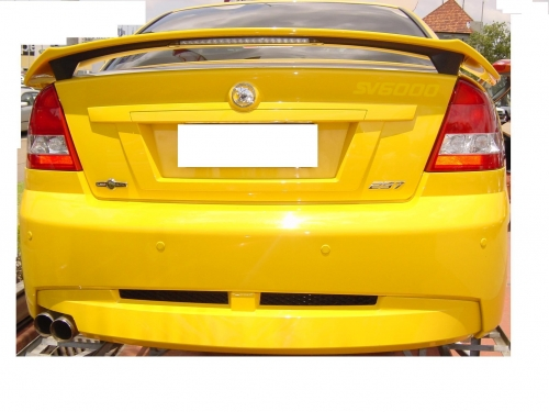 VZ CLUBSPORT SEDAN REAR WING WITH LED BRAKE LIGHTS