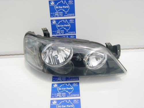 2 XT BLACK HEADLIGHTS