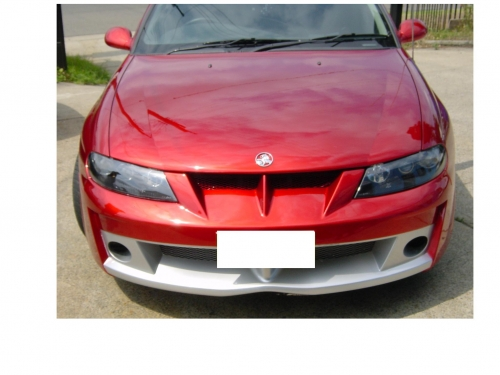 22 VY CLUBSPORT FRONT BAR TO SUIT VT - MUST CHANGE HEADLIGHTS.JPG