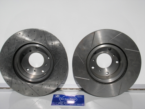 SLOTTED AND CROSS DRILLED DISC ROTORS