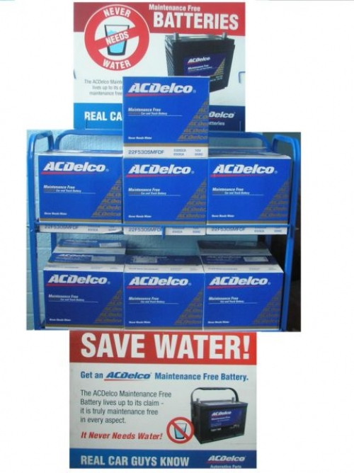 FORD FALCON EA EB ED EF EL AU BA BF FG BATTERIES BRAND NEW GENUINE ACDelco
