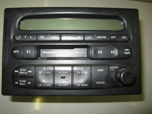 HOLDEN COMMODORE VT VX WH TAPE PLAYER WITH PINCODE