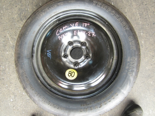HOLDEN COMMODORE VE SPARE WHEEL 17\