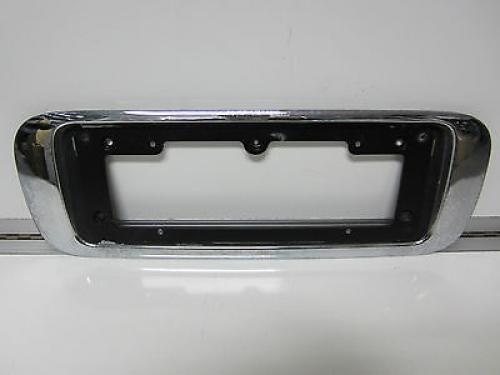 Details about  FORD NF NL FAIRLANE GHIA BOOT NUMBER PLATE GARNISH & BOOT PANEL & PLATE HOLDER