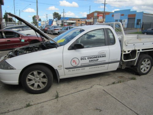 FORD FALCON AU S3 2002 UTE AUTO CURRENTLY WRECKIG 1WHEEL NUT