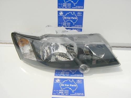 HOLDEN COMMODORE VY SS SV8 HEADLIGHT R/H NEW black vy ss head lamp DRIVER SIDE
