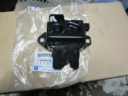 HOLDEN COMMODORE VE SEDAN BOOTLID LOCK/ACTUATOR GENUINE