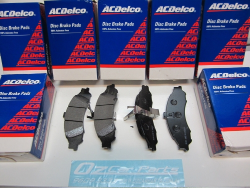 Details about  Genuine Holden New Front ACDelco Brake Pads VT VX VU VY VZ WH WK WL & STATESMAN