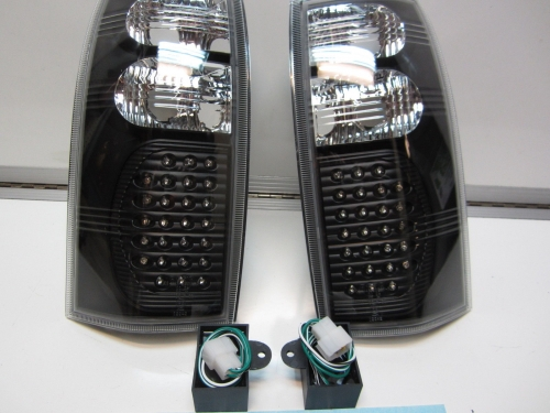Holden Commodore VT VX VU VY VZ Ute Wagon LED Altezza Taillights BLACK LED NEW