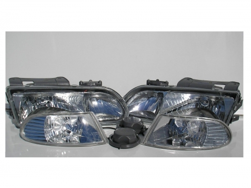 Holden Commodore VR VS Chrome Altezza Headlights & indicator Corner Lights Pair