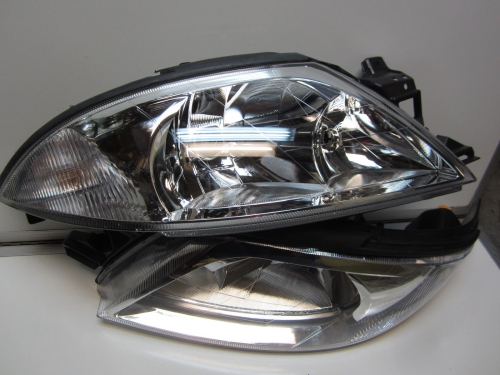 FORD AU FALCON FAIRMONT GHIA FORTE FUTURA CHROME HEADLIGHTS Series 1 & 2 & 3