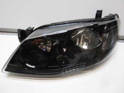 Ford Falcon BF Mk2 XT Black Headlight Head Light Brand New LH