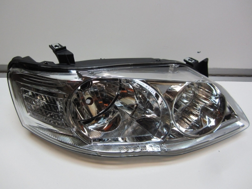Ford Falcon BF Mk2 XT CHROME Headlight Head Light Brand New RH