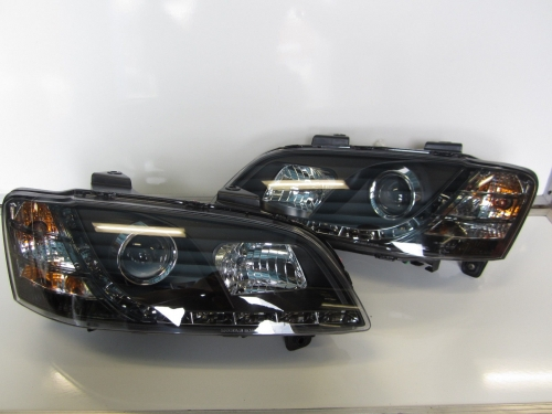 Holden Commodre Altezza LED DRL Projector VE Headlights HSV SS Lumina Omega SSV