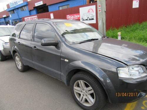 FORD TERRITORY AWD BLACKCOLOUR CURRENTLY WRECKING ALL PARTS AVALIABLE
