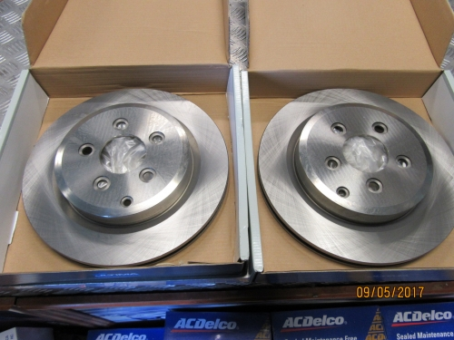 FORD TERRITORY TS TX GHIA 2WD 4WD 2004-2012 Rear Disc Brake Rotors pair