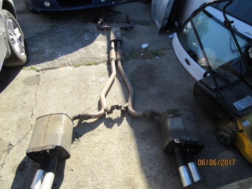 HOLDEN COMMODORE VE V6 SEDAN OMEGA SV6 TWIN TIP EXHAUST CAT BACK EXHAUST SYSTEM