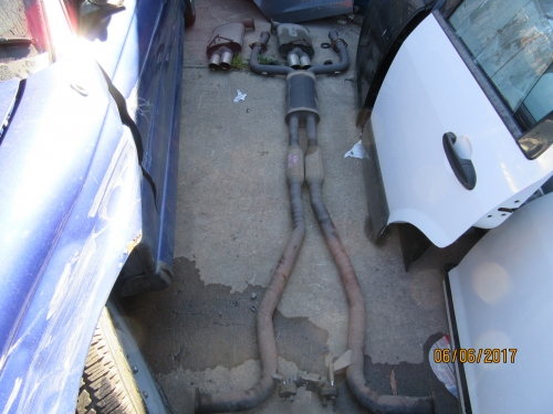 HOLDEN COMMODORE VE V6 SEDAN OMEGA SV6 TWIN TIP EXHAUST CAT BACK EXHAUST
