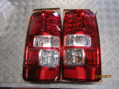 HOLDEN COLORADO RG 6/2012-ON LED TAIL LIGHTS PAIR NEW