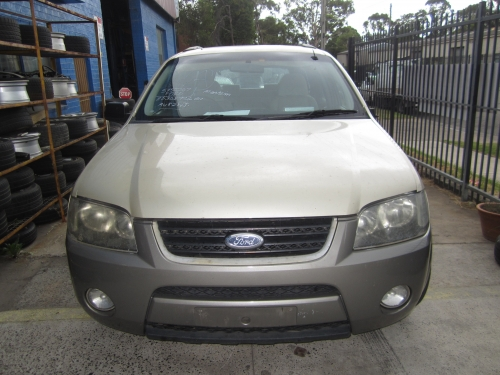 FORD TERRITORY SY TX AWD 7 SEATER 2006 6 SPD AUTO CURRENTLY WRECKING 1 WHEEL NUT