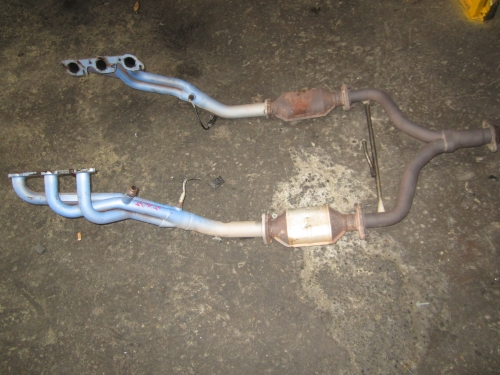 HOLDEN COMMODORE VT VX VU VY V6 PACEMAKER EXTRACTORS HEADERS AND CATS