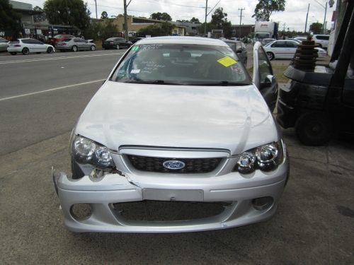 BA sedan silver Currently Wrecking