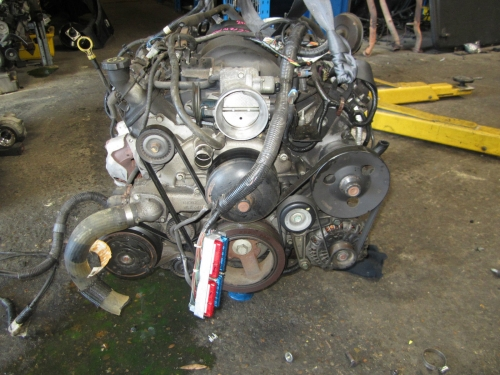 HOLDEN COMMODORE VY CREWMAN CROSS 8 V8 5.7Ltr Gen3 LS1 ENGINE